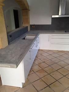 pose d39un plan de travail dans une cuisine a grans With pose d un plan de travail cuisine