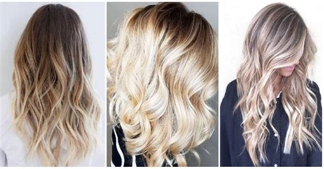 how to style your ombre hair 50 proofs that anyone can pull the blond ombre hairstyle 4509