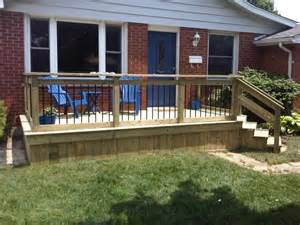25 best ideas about front deck on deck small