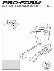 Proform Treadmill Pftl79510 0 User Guide