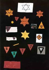 Holocaust Badge Symbols