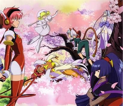 Angelic Layer Hikaru Blanche Anime Mao Shirahime