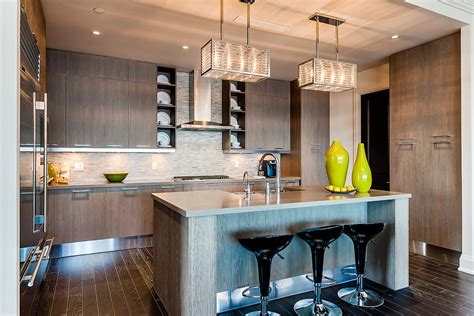 kitchen islands for getting high in the sub ph at aura toronto better dwelling 5255