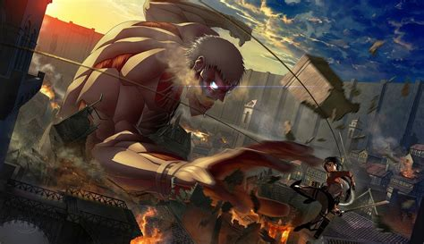 shingeki  kyojin hd desktop wallpaper high definition