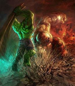 Hulk vs. Juggernaut | Comic | Pinterest