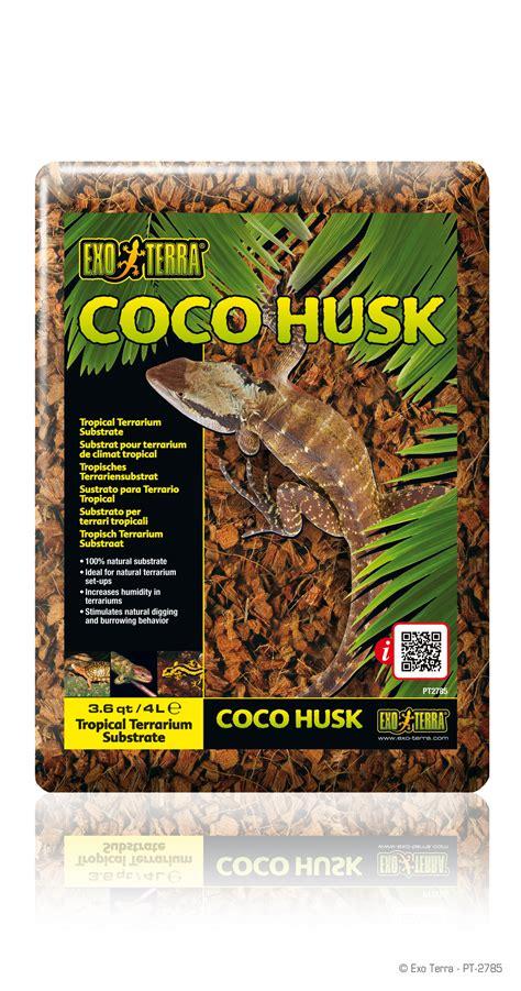 exo terra coco husk tropical terrarium substrate