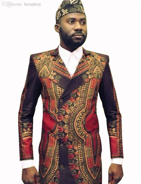 2017 Wholesale 2016 Customized African Print Fashion Men