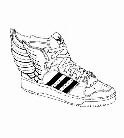 Shoe Adidas Shoes Anime Wings Sneaker Manga