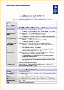 project free project lessons learned template project With lessons learnt report template