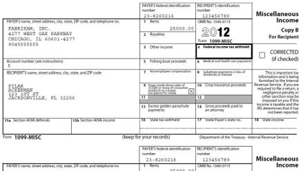 types of tax forms year end forms electronically distribute and mail forms