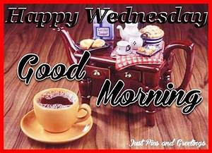 Happy Wednesday Good Morning Coffee Quote For Friends ...