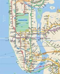 Plan De Manhattan : plan metro manhattan pdf ~ Melissatoandfro.com Idées de Décoration