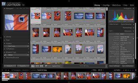 digital imaging software review lightroom