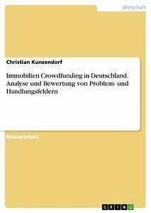 Entwicklung Hypothekenzinsen Deutschland : immobilien crowdfunding in deutschland analyse und bewertung von ~ Frokenaadalensverden.com Haus und Dekorationen