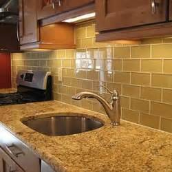glass tile backsplash ideas for kitchens glass subway tile backsplash