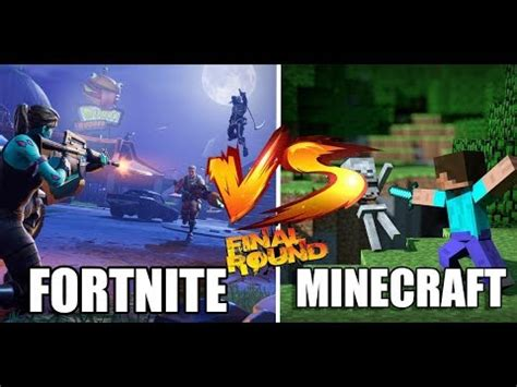 fortnite  minecraft batalla final rap thumper youtube