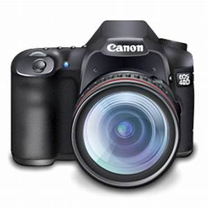 Canon 40D digital SLR camera icon png Download Free Vector ...