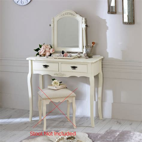 shabby chic vanity table set cream wood dressing table mirror set shabby french chic vintage vanity bedroom ebay
