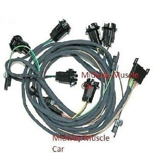 Pontiac Gto Wiring Harnes by Rear Light Wiring Harness 66 Pontiac Gto 1966