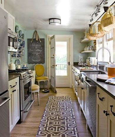 decorating ideas     galley kitchen
