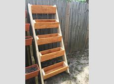 Vertical Herb Planter Do It Yourself Home Projects from