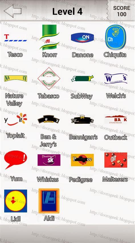quiz cuisine food logo quiz answers level 7 images
