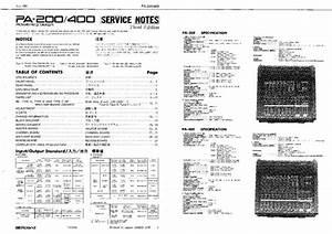 Roland -- Pa-400