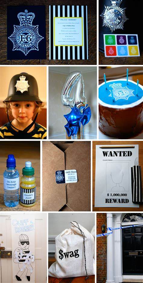 cops  robbers party babyccino kids daily tips