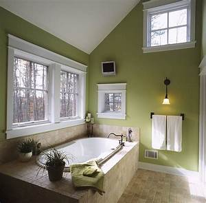 20 refreshing bathrooms with a splash of green With salle de bain couleur pastel