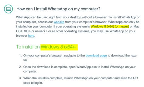 install whatsapp desktop on windows 7