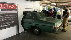 Car crashes through wall at Rutherford | Newcastle Herald