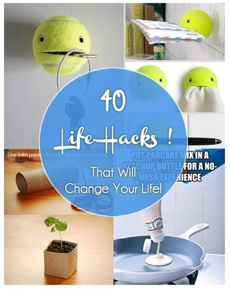 40 Life Hacks That Will Change Your Life  Just Imagine
