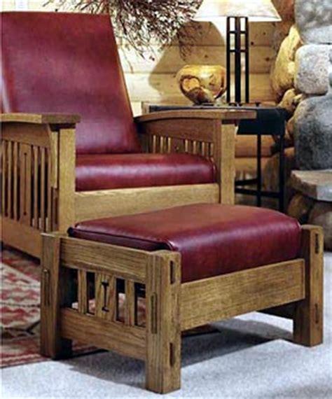 arts  crafts morris chair woodworking plan dp