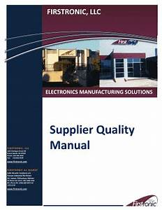 supplier scorecard categories edit fill print With supplier quality manual template