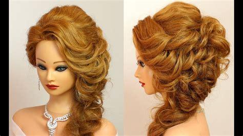 Prom Hairstyle For Medium Long Hair Tutorial