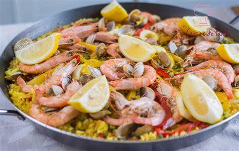 cuisine paella paella cuisine de fadila