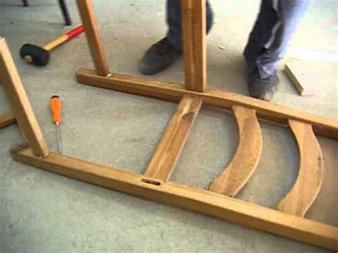 comment rehausser une chaise réparation de chaise avec gaë