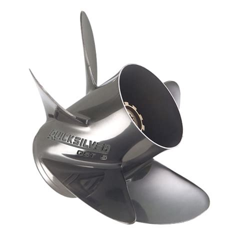 Boat Propeller Blade Number by Quicksilver Qst 5 Stainless Steel 5 Blade Boat Propeller