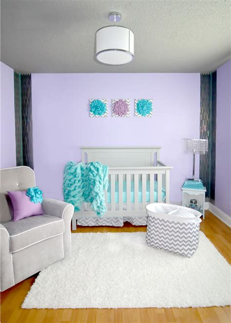 lilac gray nursery project nursery