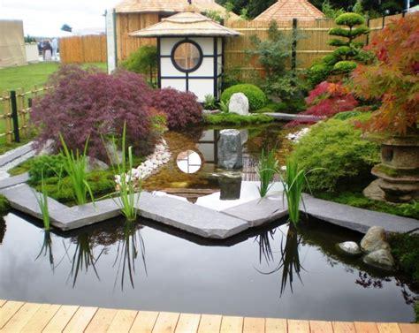 Japanischer Garten Gestaltungsideen by Small Japanese Garden Design Ideas With A Pond And Garden