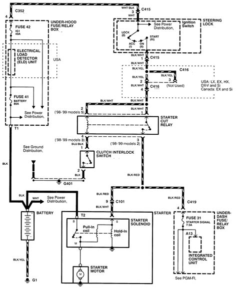 1998 Honda Civic Ex Wiring Diagram by I Just Replaced My Starter And My Car Will Not Start For