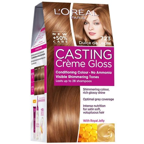 Florence pugh talks possible madonna biopic casting. L'Oreal Casting CrÄŤMe Gloss 723 Permanent Hair Dye No ...