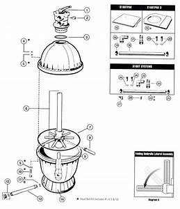 Hayward S160t Sand Filter Parts Diagram