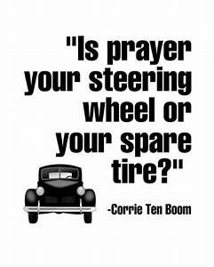 """""""Is prayer yo... Spare Tyre Quotes"""