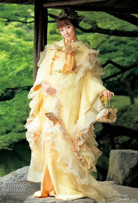 Traditional Japanese Wedding Dress by Wedding Collections Japanese Wedding Dresses