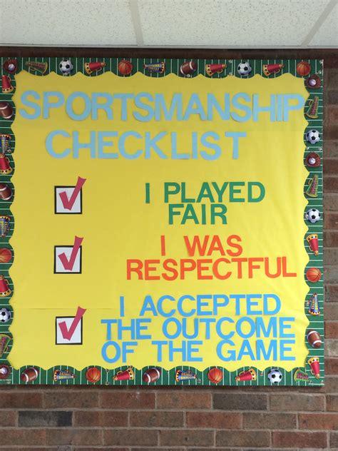 elementary pe bulletin board elementary pe bulletin