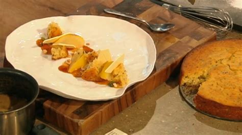 Deliciously light and moist with no weird ingredients! James Martin poached pear with saffron and lemon cake recipe on Saturday Kitchen - The Talent Zone