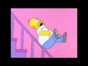 Simpsons - Can you survive Homer falling down the stairs ...