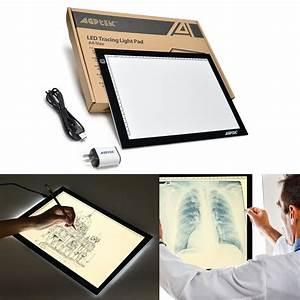 A4 Led Artcraft Tracing Light Pad Box Tatoo Drawing Table