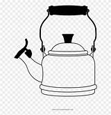Kettle Coloring Colouring Pinclipart Clipart sketch template